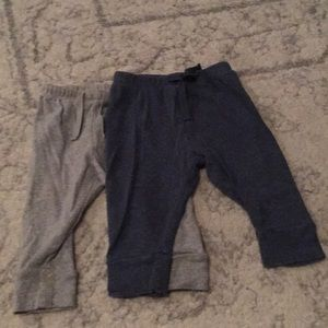 2 pairs of baby boy pants